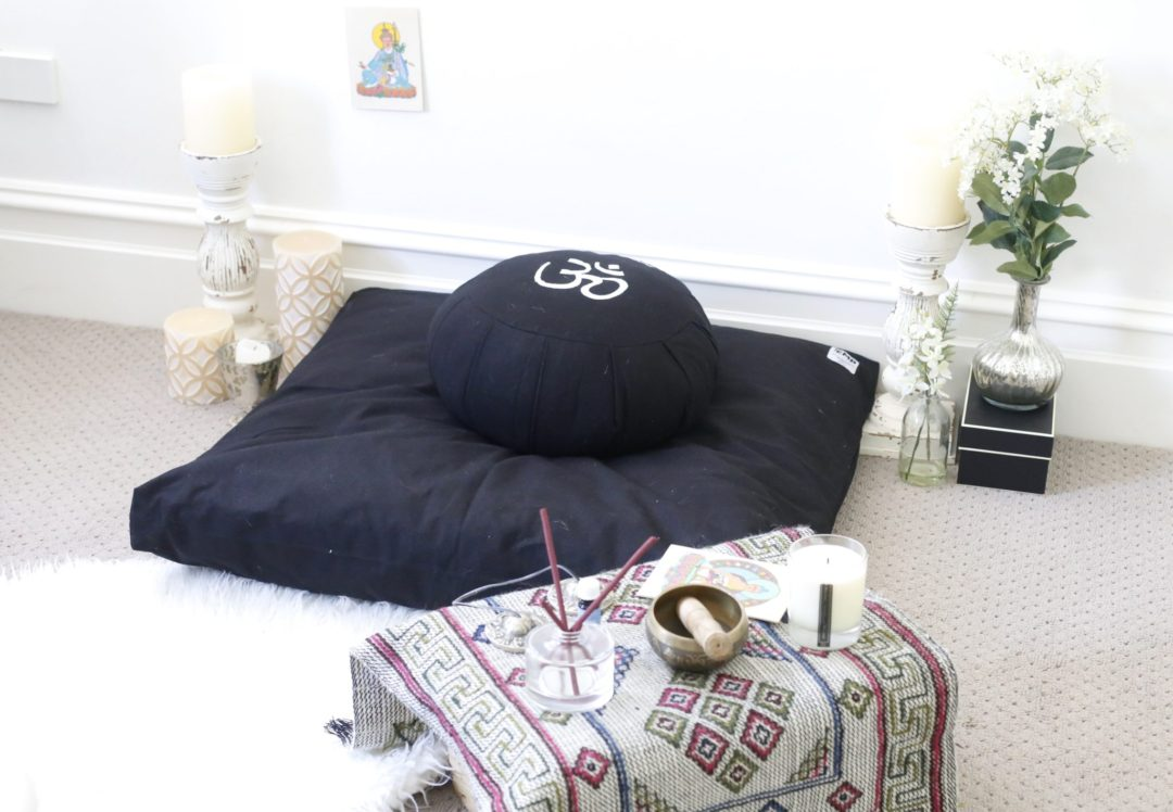 Creating A Meditation Space creating the most perfect meditation space at home - sophie benbow